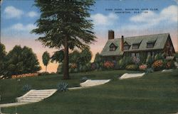 Zinn Park, Showing Axis Club Postcard