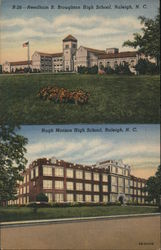 Needham B. Broughton High School, Hugh Morson High School