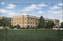 McDonald Hall for Girls, Abilene Christian College