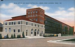 Main Office and Bemis Cotton Mill Postcard