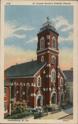 St. Francis Xavier's Catholic Church Postcard