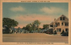 Wheatley Court, Hot Springs National Park Postcard