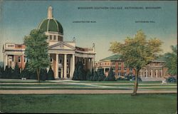 Mississippi Southern College Postcard