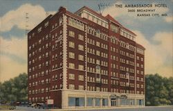 The Ambassador Hotel Postcard