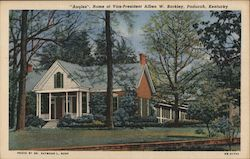 """Angles"", Home of Vice President Alben W. Barkley, Paducah, KY Postcard"