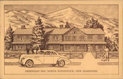Greenleaf Inn Postcard