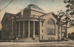 Fifth Street Baptist Church Postcard