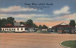 Tarry More Hotel Courts Postcard