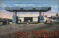 Eastern Entrance to Bankhead Tunnel Postcard