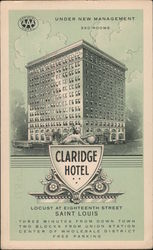 Claridge Hotel Postcard