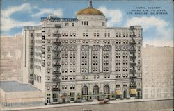 Hotel Embassy, Grand Ave. at Ninth Postcard