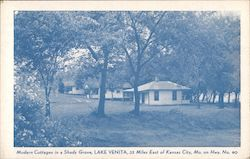 Lake Venita Cottages Postcard