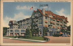 The Elms Hotel, Excelsior Springs, Mo., Missouri's National Health and Pleasure Resort Postcard