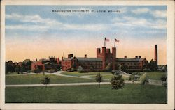 Washington University Postcard