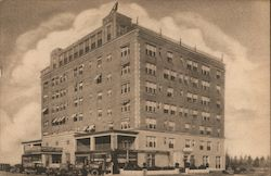 Kingsley Arms Apartment Hotel Postcard