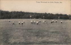Camp Wenonah for Girls Postcard