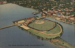 City Island, Recreation Center Postcard
