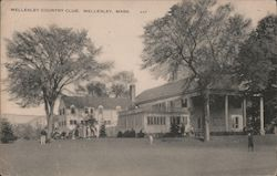 Wellesley Country Club Postcard