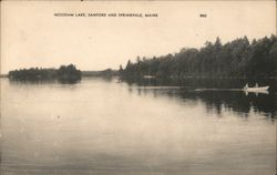 Moussam Lake Postcard