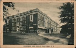Plainfield High School Postcard