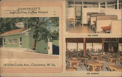 John Pauley's South Ruffner Coffee Shoppe Postcard