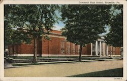 Colestock High School Postcard