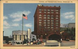 Canteen and Pennsylvania Station, Pittsburgh, Pa. Postcard