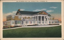 Pittsburgh Golf Club, Schenley Park Postcard