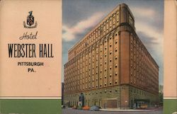Hotel Webster Hall Postcard