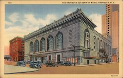 The Brooklyn Academy of Music Postcard