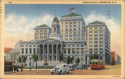 Borough Hall Postcard