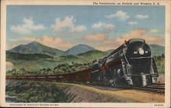 The Pocahontas, on Norfolk and Western Railroad Postcard