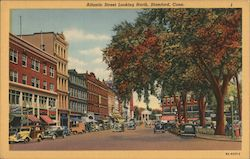 Atlantic Street Looking North Postcard