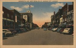 Minnesota Avenue West from 4th Street Postcard