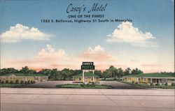 Casey's Motel, One Of The Finest Postcard