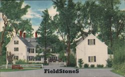 FieldStones, by Sally Bodwell - A Charming Place to Eat Postcard