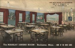 The Markay Dining Room Postcard