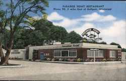 Paradise Point Restaurant, Hiway 90, 3 miles east of