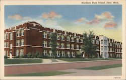 Northern High School Postcard