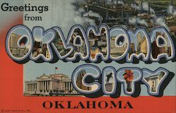 Greetings from Oklahoma City Postcard
