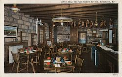 Coffee Shop, The Old Talbott Tavern, Bardstown, KY Postcard