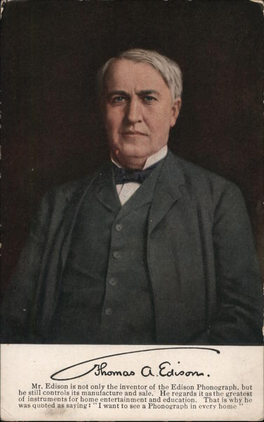 Thomas A. Edison Men