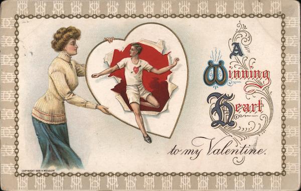 A Winning Heart To My Valentine Hearts