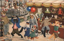 Cat Carnival with Games and Carousel