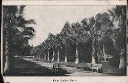 East Lake Park / Chullah, The Great Hindu Snuff Remedy Postcard