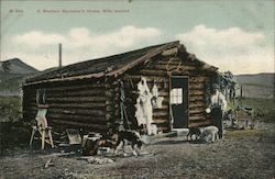 A Western Bachelor's Home, Wife Wanted Postcard