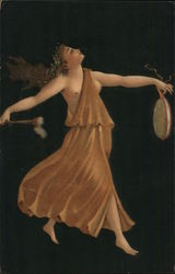 Dancer with a drum Postcard