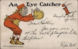 An Eye Catcher Postcard