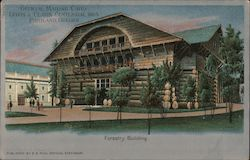 Forestry Building - Official Mailing Card, Lewis & Clark Centennial, 1905 Postcard