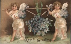 Love's Greeting Postcard